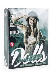 Shots s -line dolls - lala dmuchana sexowna żołnierka, wagina