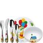 Zestaw naczyń plus sztućce dla dzieci kubuś wmf 6 elementów 1283509964