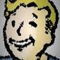 Polyamory - vault boy, fallout - plakat wymiar do wyboru: 40x50 cm