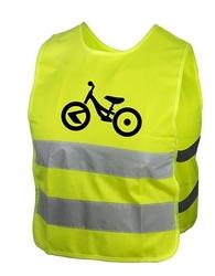 Kamizelka odblaskowa kellys starlight bike dziecięca