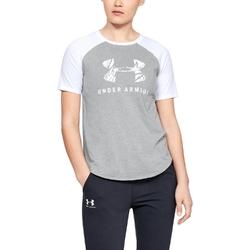Koszulka damska under armour fit kit baseball tee graphic
