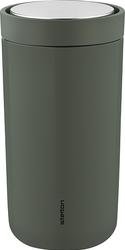 Kubek termiczny stalowy To Go Click 0,2 l ciemnozielony