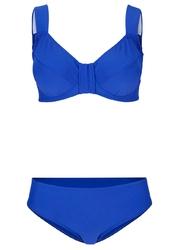 Bikini minimizer 2 części bonprix niebieski