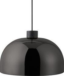 Lampa wisząca grant 45 cm czarna