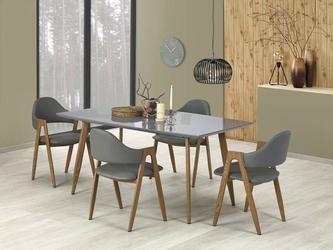 Stół rozkładany inspire 160-200x90 cm szarymiodowy do jadalni