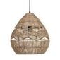 Woood :: lampa wisząca adelaide naturalna śr. 35 cm