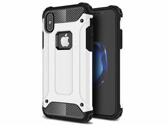 Etui Alogy Hard Armor Apple iPhone XXs Białe - Biały