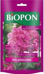 Biopon, koncentrat rozpuszczalny do pelargonii, 250g