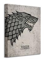 Game of thrones stark - obraz na płótnie