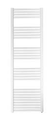 Grzejnik łazienkowy york - wykończenie proste, 600x1500, białyral - biały