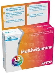 Apteo multiwitamina x 60 tabletek