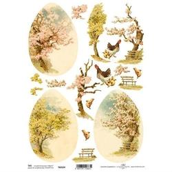 Obrazkii 3d - motyw wiosenny drzewo - drzewo