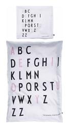 Pościel niemowlęca AJ Kids różowe litery