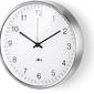 Zegar ścienny okrągły palla 24 cm biały