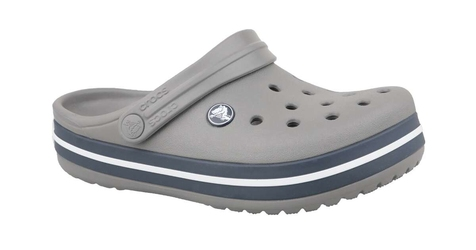 Klapki crocs crocband clog k 204537-05h 3334 szary