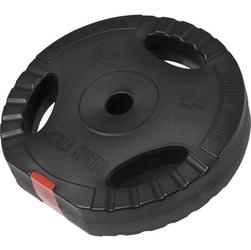 15 kg obciążenie bitumiczne z uchwytami na sztangę 30 mm