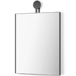 Lustro ścienne - prostokątne 50x40 cm morma zack czarna rama 50641