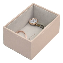 Pudełko na biżuterię open Mini Stackers jasnoróżowe