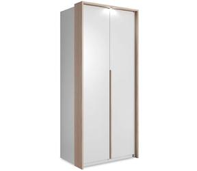 Szafa nowoczesna biała - 100 x 220 cm - lexi