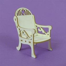Ozdoba 3D - Krzesło małe