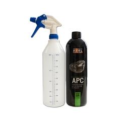 Zestaw adbl apc 1l + pusta butelka z podziałką i spryskiwaczem do rozcieńczania