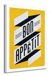 Bon appetit - obraz na płótnie