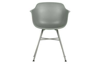 Woood zestaw 2 krzeseł marly szary 373799-g