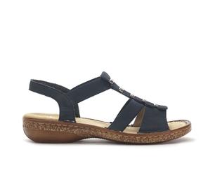Sandały damskie rie 62850 gra