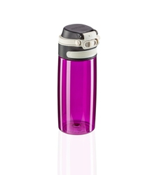 Bidon trytanowy flip 550 ml, purpurowy