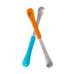 Boon - dwustronne łyżeczki orangeblue
