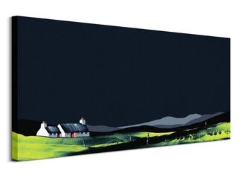 Homestead cottage - obraz na płótnie