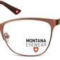Oprawki kocie optyczne montana mm606f brązowe
