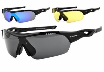 Okulary z 3 soczewkami lozano lz-125a polaryzacja + poliwęglan