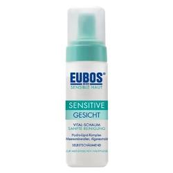 Eubos sensitive vital pianka do oczyszczania twarzy