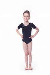 Shepa body gimnastyczne lycra b1 krótki rękaw