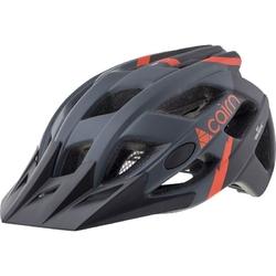 Kask rowerowy cairn basalt - czarno-czerwony