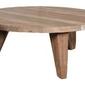Hk living :: stolik kawowy z drewna tekowego