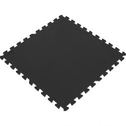 Mata ochronna puzzle 8 szt, czarna