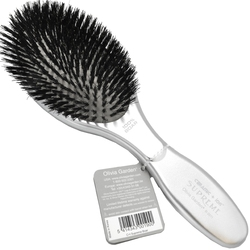 Olivia garden supreme silver, szczotka tylko z włosiem dzika bez igliwa