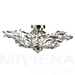 Lima lampa wisząca 6 patyna kryształ