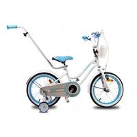 Rowerek dla dzieci 14 heart bike - biały