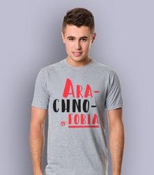 Arachnofobia t-shirt męski jasny melanż m
