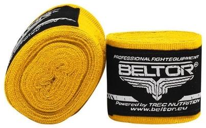 Beltor bandaż bokserski elastyczny żółty