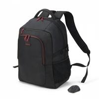 Dicota plecak backpack gain wireless mouse kit