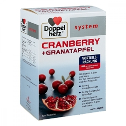 Doppelherz cranberry+granatapfel system kapsułki