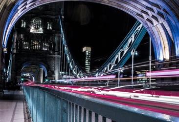 Fototapeta tower bridge londyn nocą fp 2276