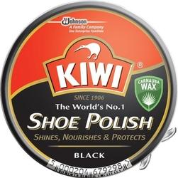 Kiwi czarna pasta do butów w puszce, 50ml