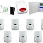 Zestaw alarmowy satel ca-10 led, gsm, 7 czujek, sygnalizator zewnętrzny - możliwość montażu - zadzwoń: 34 333 57 04 - 37 sklepów w całej polsce