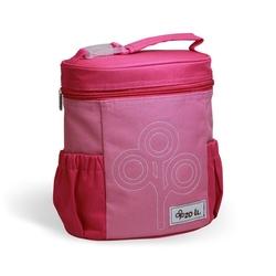 Termotorba lunchbox nomnom zoli różowa - różowy