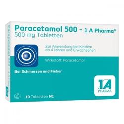 Paracetamol 500 1a pharma tabl.